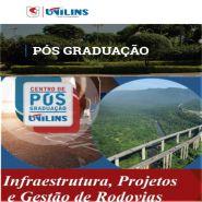 UNILINS - Infraestrutura, Projetos e Gestão de Rodovias – 360 horas