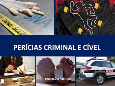 CIÊNCIAS FORENSES-PERICIAS CRIMINAL E CIVEL