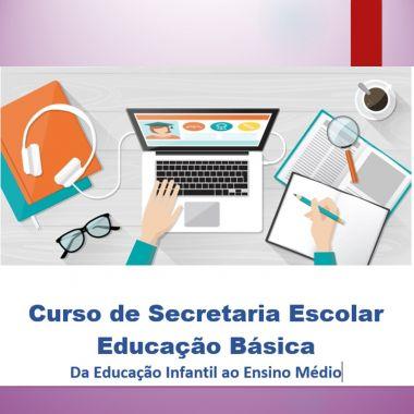 CURSO DE SECRETARIA ESCOLAR  EDUCAÇÃO BÁSICA -20h