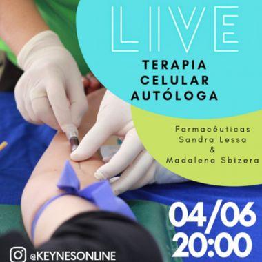 LIVE DIA 04/06/21. VAMOS FALAR DE TERAPIA  CELULAR AUTÓLOGA