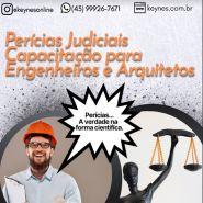 PERICIAS JUDICIAIS - CAPACITAÇÃO PARA ENGENHEIROS E ARQUITETOS