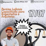 PERICIAS JUDICIAIS. CAPACITAÇÃO PARA ENGENHEIROS E ARQUITETOS
