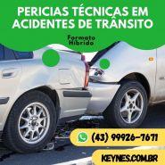 PERICIAS TÉCNICAS EM ACIDENTES DE TRÂNSITO